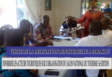 LATv – SNT 2017 : Une délégation du Ministère de la Culture rencontre les Promoteur hôtelier de Parakou